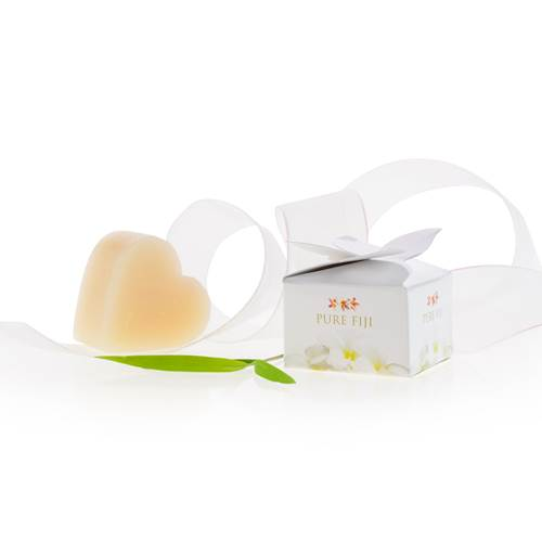 6 x Heart Shaped Soap Petal Box