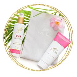Hydrate & Polish Kit (Lotion/Crush in Canvas Bag)